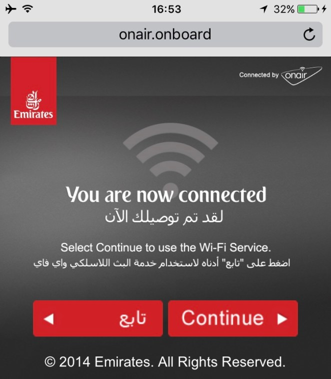 OnAir - Emirates Wifi 3