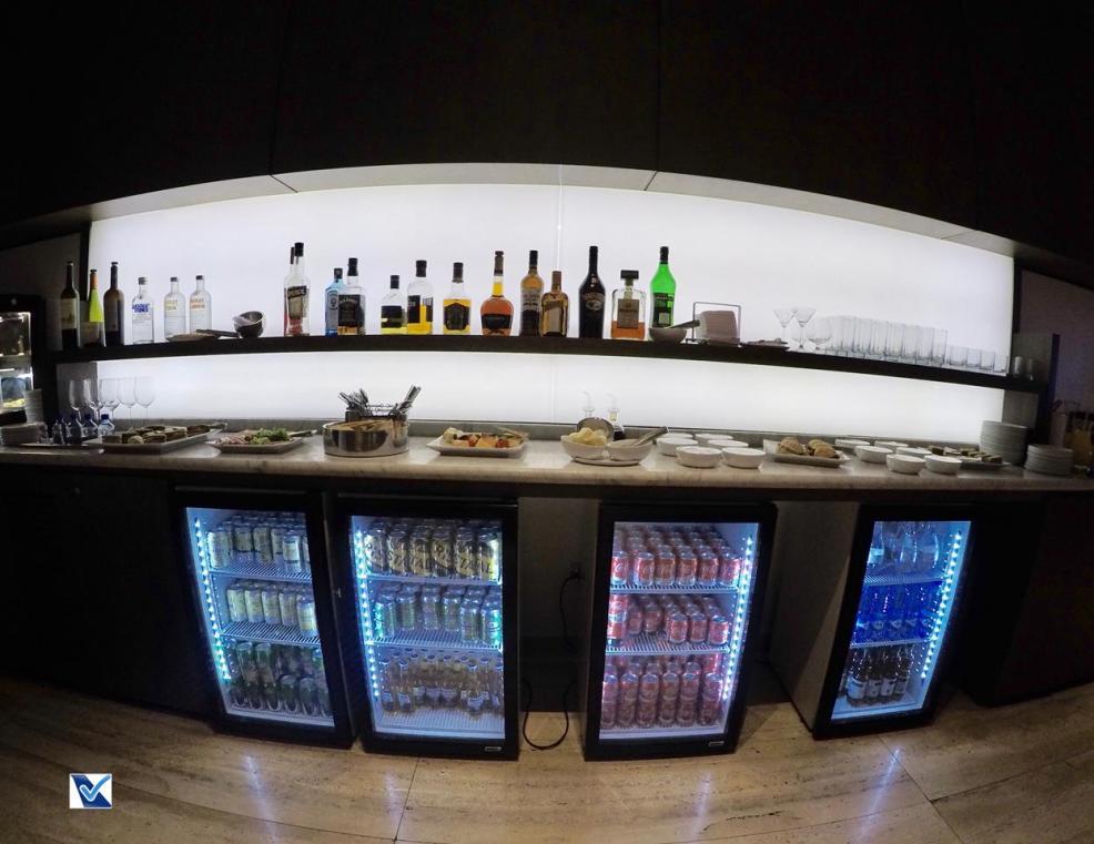 Sala VIP - SCL - LATAM - Bebidas