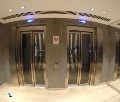 Sala VIP - SCL - LATAM - Elevador