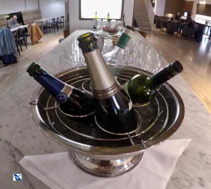 Sala VIP - SCL - LATAM - Vinhos