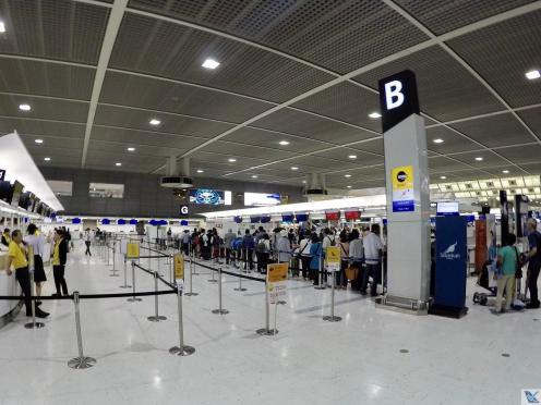Área Check-in Scoot Narita 2