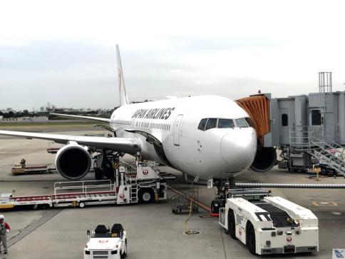 B767 - Portão 18 - Osaka - JAL