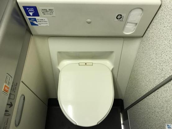 Banheiro - B777 - ANA Vaso
