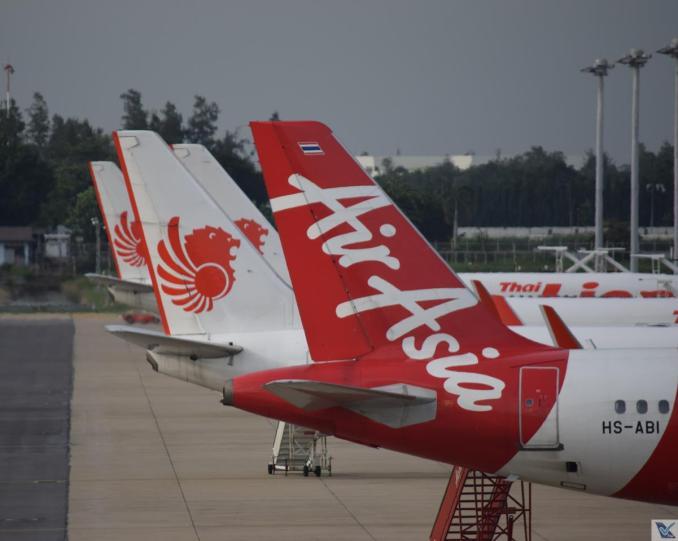 DMK - Caudas - Air Asia e Thai