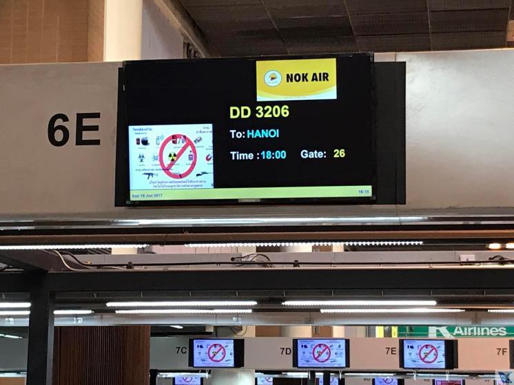 DMK - Check-in NOK AIR