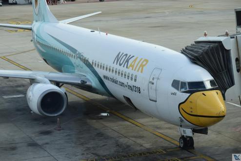 DMK - Nok Air Branco Verde 1