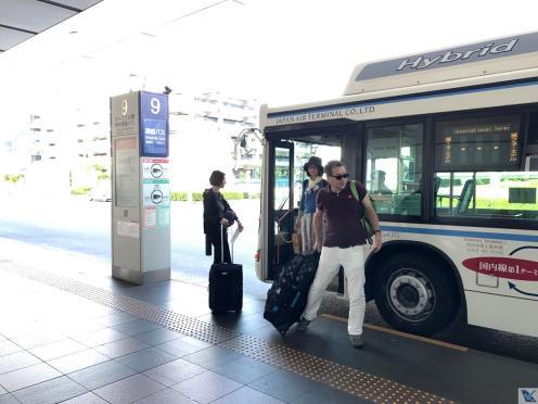 Haneda - ônibus circular terminais