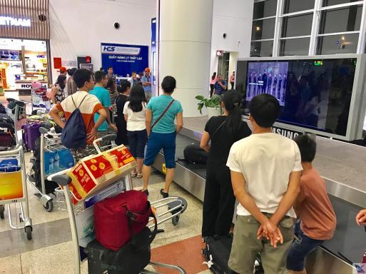 Hanoi - Restituição Bagagem - Nok Air (1)