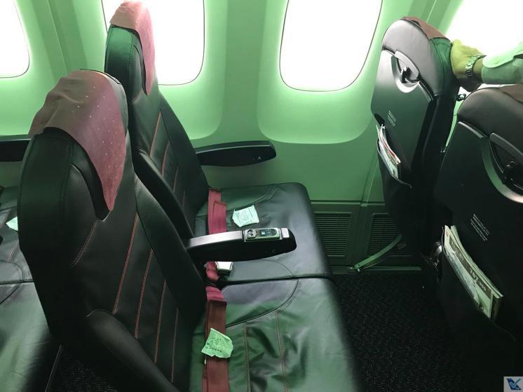 Inside - Cabine Econômica - B767 JAL 2