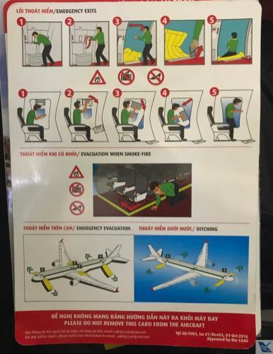 Instruções de Segurança - A320 - VietJet Air 2