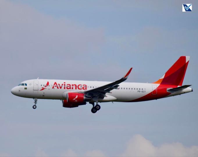A320 pousando em Guarulhos