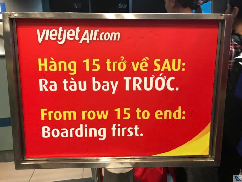 Portão 1 - Hanoi - Vietjet Air 3