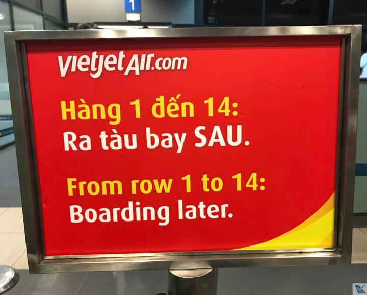 Portão 1 - Hanoi - Vietjet Air 4