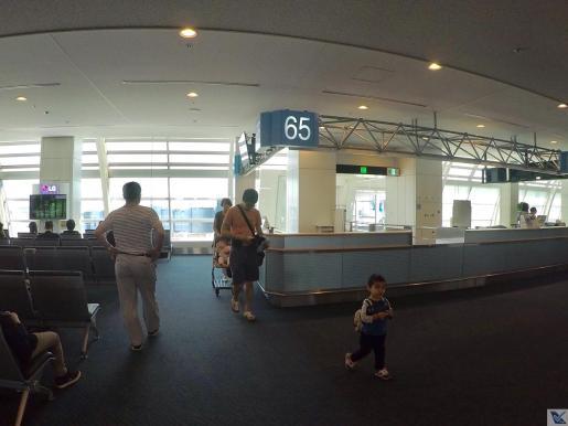 Portão 65 - Embarque ANA - Haneda 4