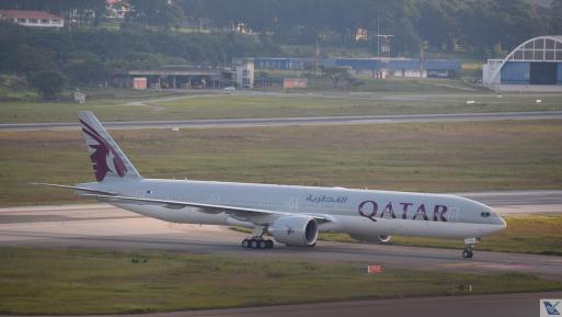 Qatar - B777 - GRU