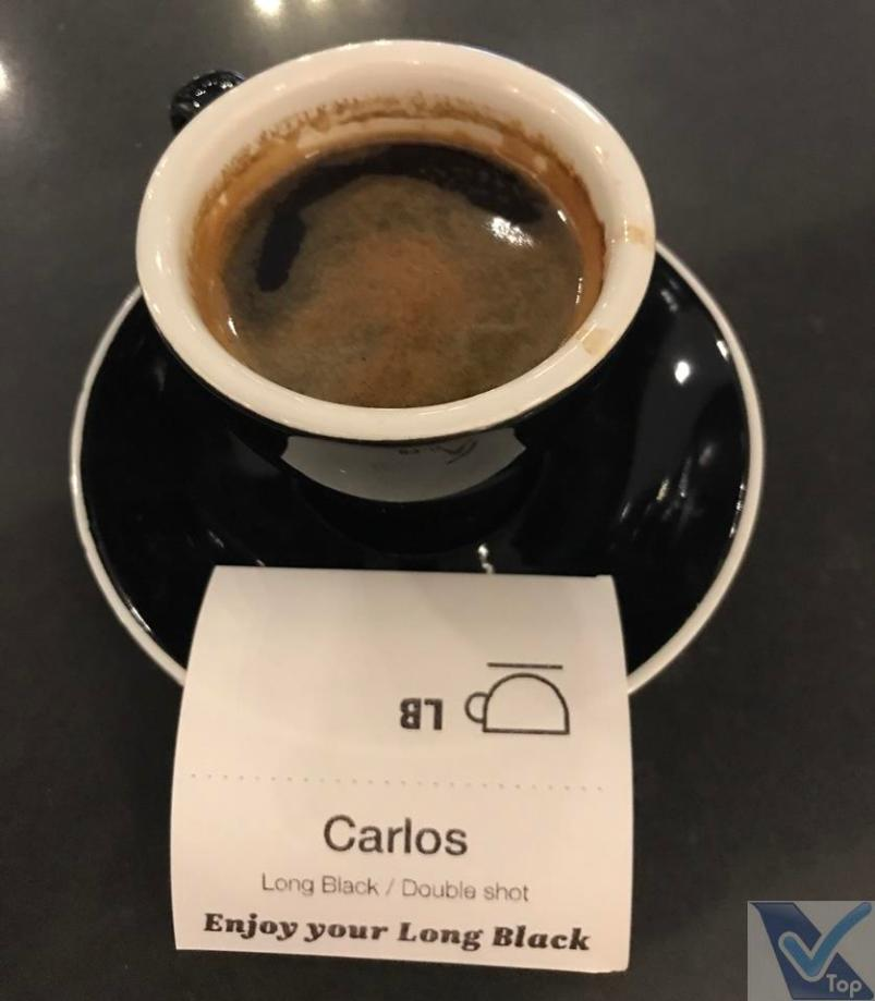 Sala VIP - ANZ - AKL - Café servido