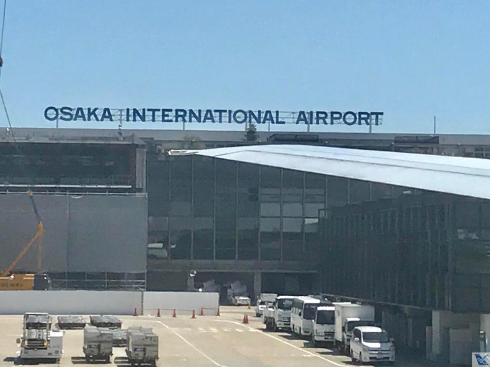 Taxiamento - Osaka - B777 - ANA (1)
