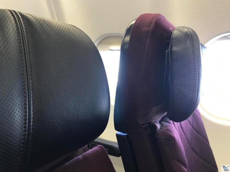 A330 - Qantas - Reclinagem - Econômica