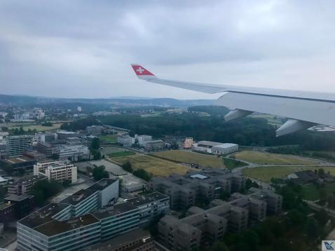Aproximação ZRH - A330 Swiss 4