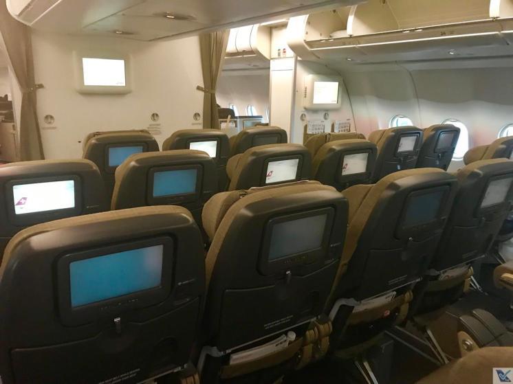 Inside - Econômica - A330 Swiss 5