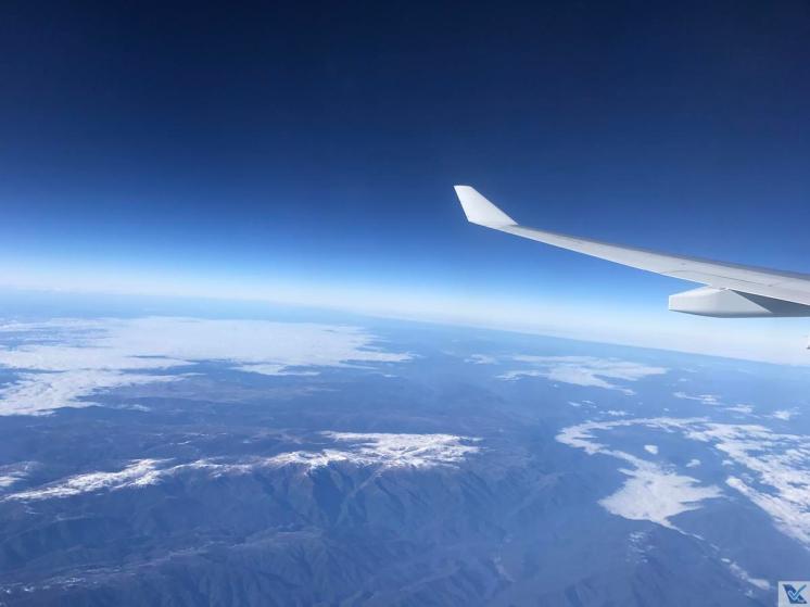 Janela - A330 - Qantas SYD - MEL (1)
