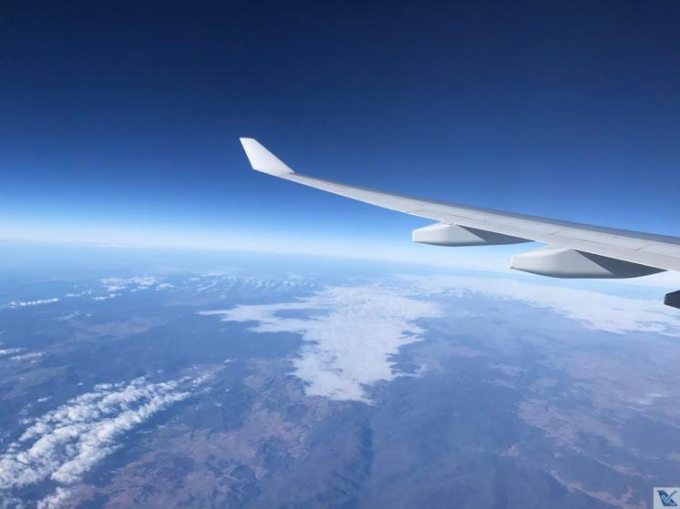 Janela - A330 - Qantas SYD - MEL (13)