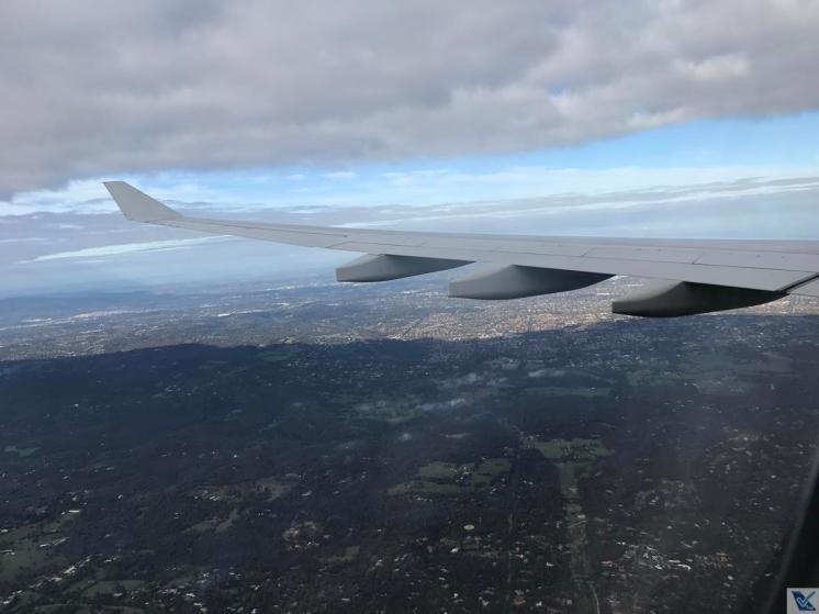 Janela - A330 - Qantas SYD - MEL (8)