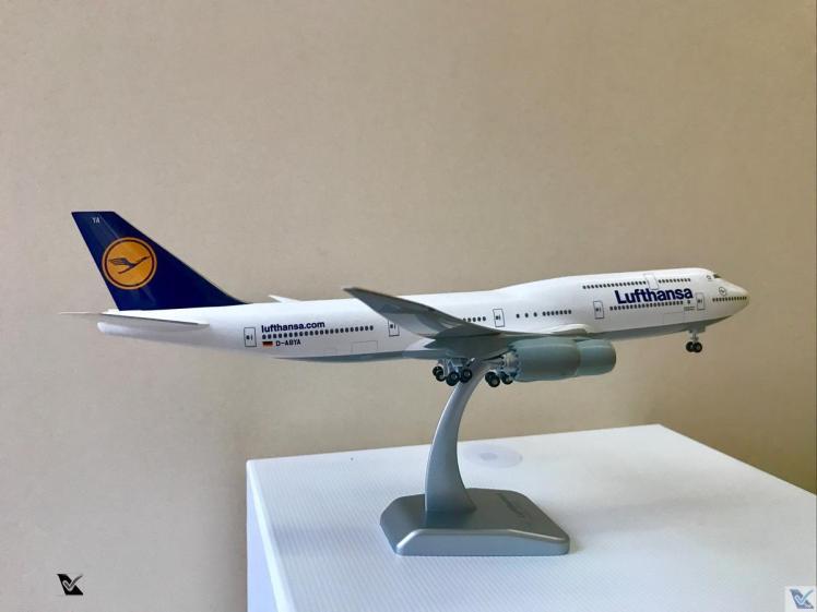 Lufthansa - B747 - Miniatura