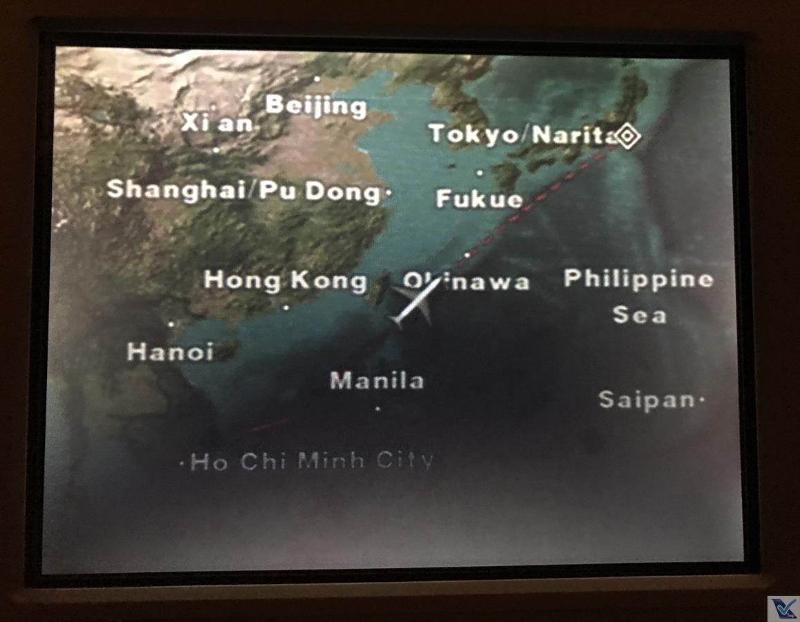 Mapa de Voo - B767 - ANA