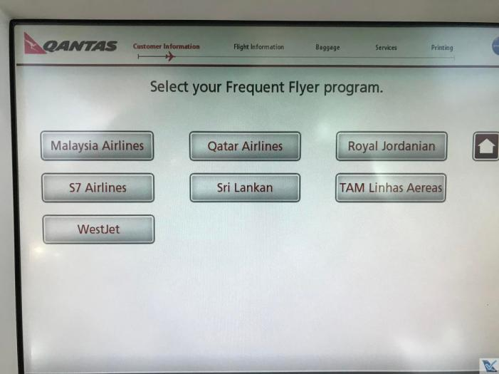 Qantas - Totem Check-in - Tela (2)