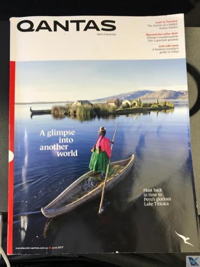 Revista de Bordo - Qantas