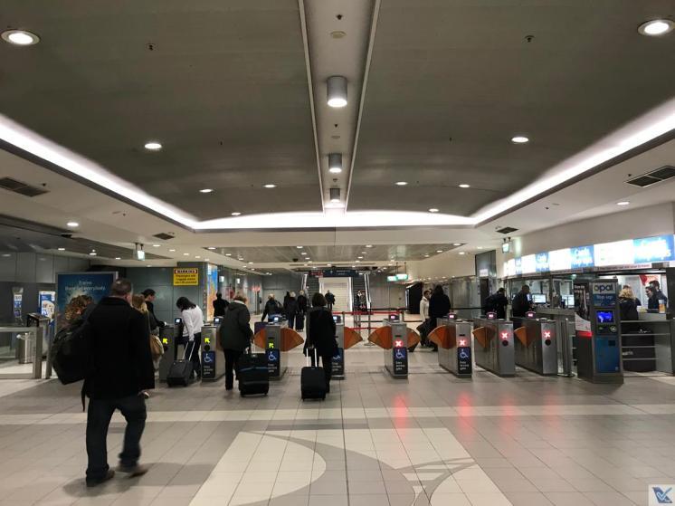 Trem - Aeroporto Sydney - Catracas