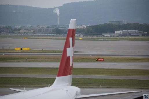 A321 - Swiss - Cauda