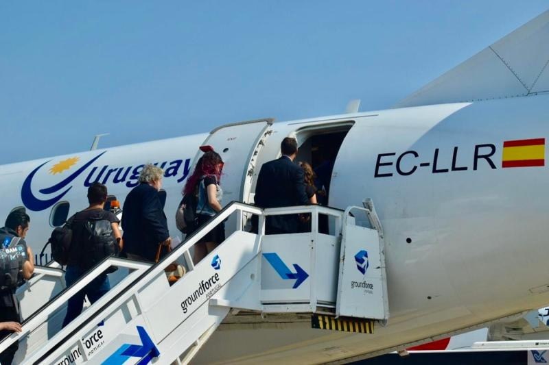 E-jet - Air Europa - Embarque Lisboa 2