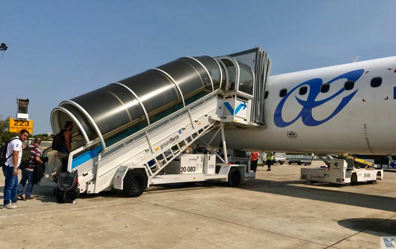 E-jet - Air Europa - Embarque Lisboa 7
