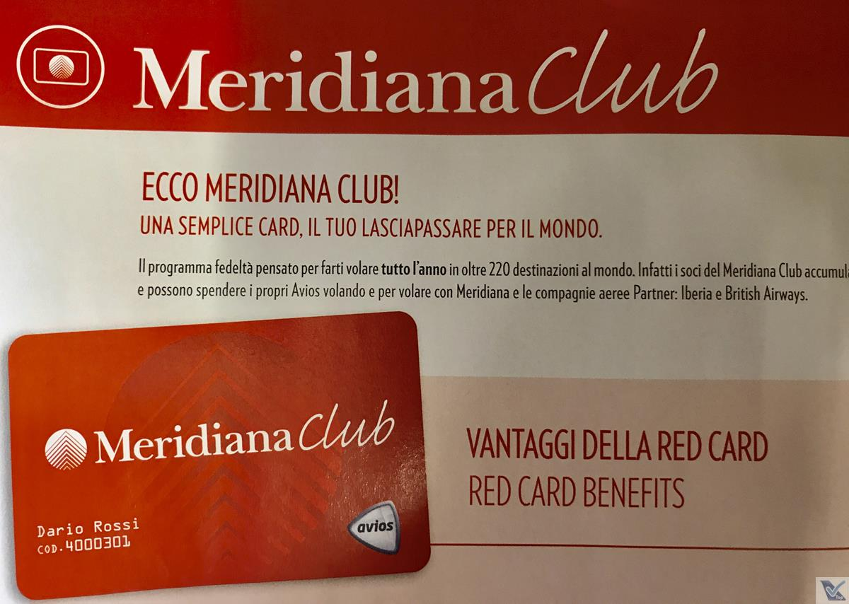 Revista de Bordo - Meridiana - Club