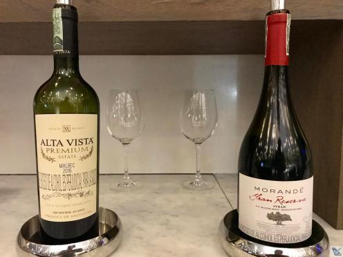 Sala VIP - LATAM - BOG - Vinhos