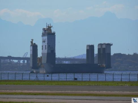 Baía de Guanabara - Plataforma da Petrobras