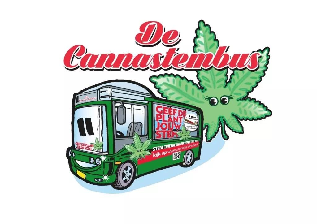 CannaStemBus tour start vandaag op Plein Den Haag