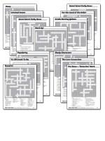 giant crossword puzzles baker's dozen