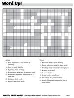 "crossword puzzle ""Word Up!"""