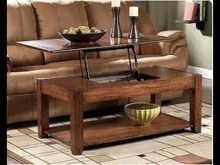 coffee table that raises to dining height