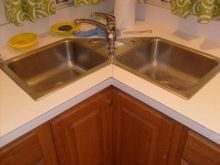 Corner Kitchen Sink Cabinet