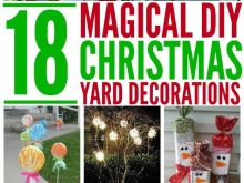 Diy Christmas Yard Decorations