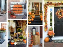 diy network fall front door decor
