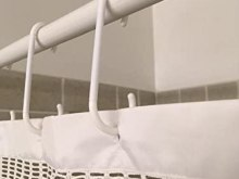 extra long shower curtain hooks