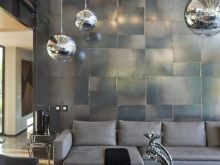 Industrial Decor Living Room Silver Accents