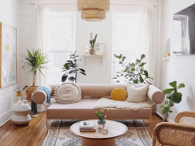 Minimalist Boho Living Room