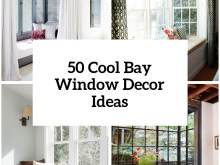 Under Bay Window Decoration