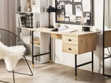 Wood Home Office Desk